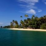 Ngapali Beach and Blue Sky
